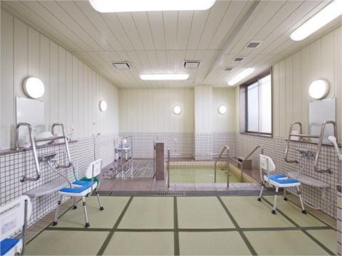 天然温泉のお風呂