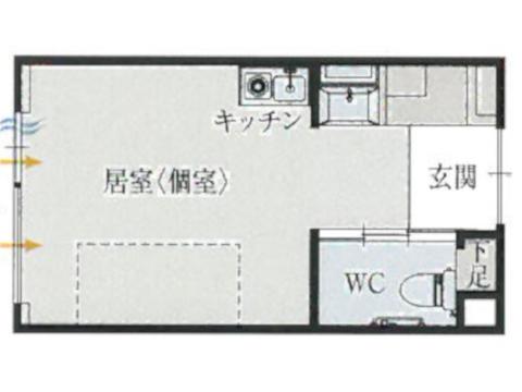 標準居室 Dタイプ