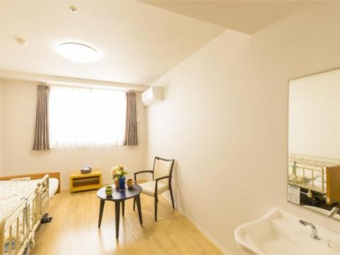 プライバシーの確保された快適な居室