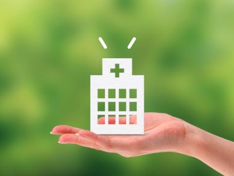 病院併設の安心の医療体制