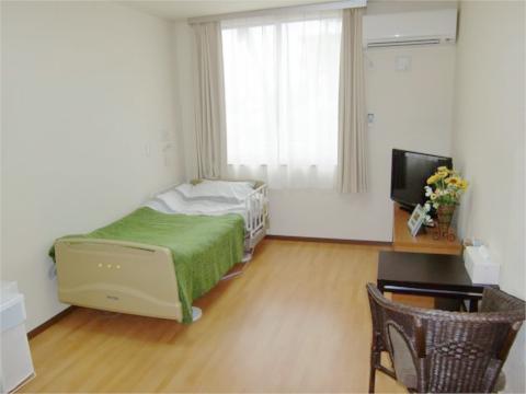 充実設備の快適な居室