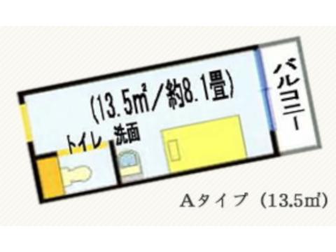 Aタイプ(2~6階)