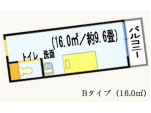 Bタイプ(2~5階)