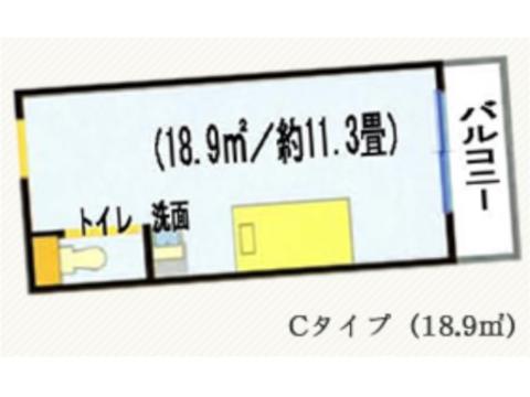 Cタイプ(2~5階)