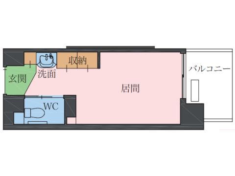プラン①(Type A / 201~203・205・206・207号室)
