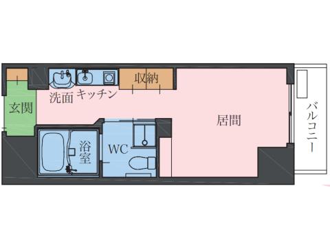 プラン④(Type B / 501~503・505・601~603・605号室)