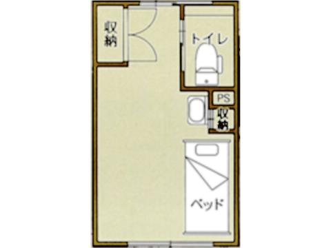 Bタイプ(家具付き)