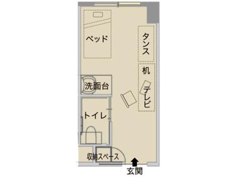 プラン[1]介護居室【家賃相当額毎月払】