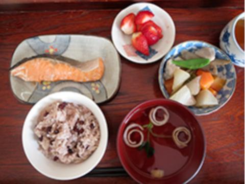 淡路島産の食材を使用したお食事